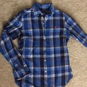 Ralph Lauren flannel button down